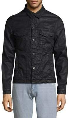 J Brand Gorn Point Collar Denim Jacket