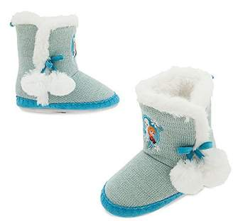 Disney Frozen Slippers for Girls Size 9/10 YOUTH