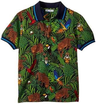 Dolce & Gabbana Short Sleeve Polo Shirt Boy's Clothing