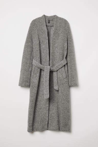 H&M - Wool-blend Coat - Gray