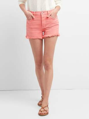 Gap High Rise Denim Shorts in Color