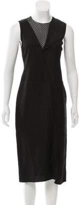 Reed Krakoff Paneled Midi Dress