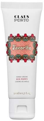 Claus Porto Favorito Red Poppy Hand Cream