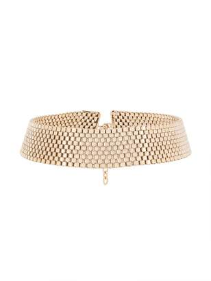 Krizia collar fitted necklace