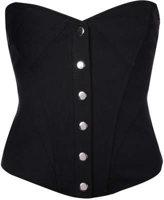 Fleur Du Mal strapless corset top