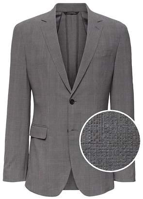 Banana Republic Slim Smart-Weight Performance Seersucker Suit Jacket