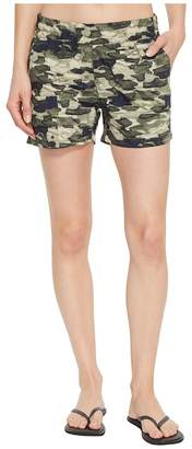Columbia Silver Ridge Printed Pull-On Shorts Women's Shorts
