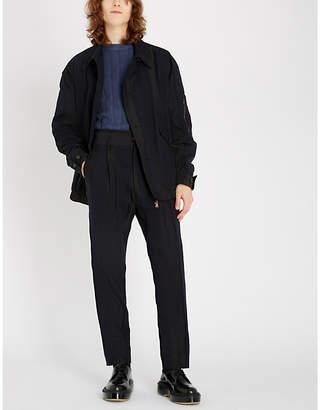 Vivienne Westwood Asymmetric panelled cotton jacket