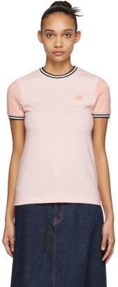 Acne Studios Pink Bla Konst Eske T-Shirt