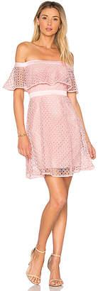 Bardot Off Shoulder Lace Dress