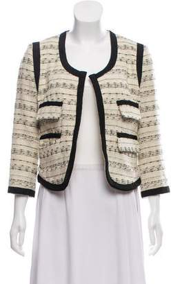 By Malene Birger Patterned Textured Jacket