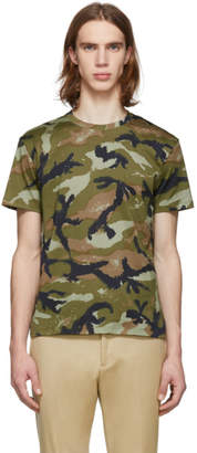 Valentino Green Art Camo T-Shirt