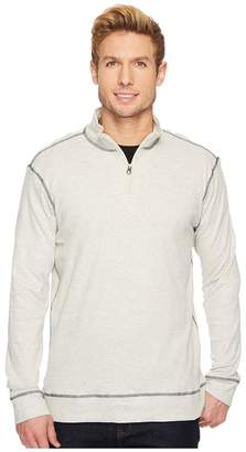 Vintage 1946 Drop Needle Q-Zip Pullover Men's Long Sleeve Pullover