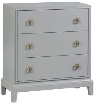Crestview Collection Hawthorne Estate 3 Drawer Dover Grey Chest