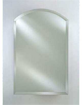 Afina Corporation SD1622RARC-BV-R Single Door 16X22 - 16X25 O-D - Recessed Arch Top Beveled Right Hinge Cabinet