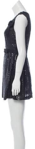 Miu Miu Sequined A-Line Dress