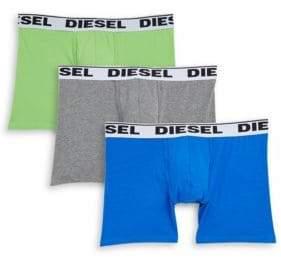 Diesel Three-Pack UMBX-Sebastian Boxer Briefs