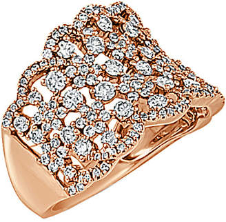 Sabrina Designs 14K Rose Gold 1.60 Ct. Tw. Diamond Ring