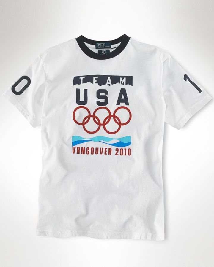 Ralph Lauren Olympic Games Little Boy Tee
