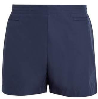 Iffley Road - Pembroke Logo Embossed Running Shorts - Mens - Navy