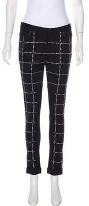 Rebecca Minkoff Mid-Rise Embellished Pants