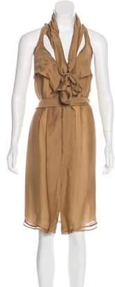 Stella McCartney Ruffled Silk Dress