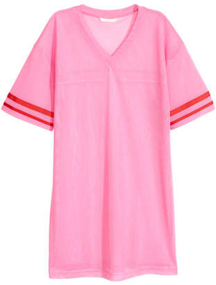 H&M Mesh T-shirt - Pink