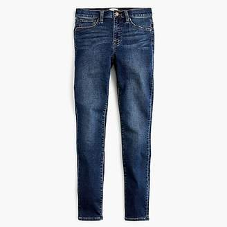 """J.Crew Tall9"""" high-rise jeggings in blue indigo wash"""