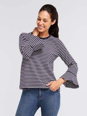 Draper James Sadler Stripe Knit Tee