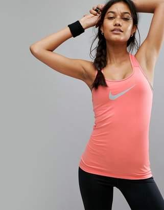 Nike Training Nike Pro Training Tank In Pink
