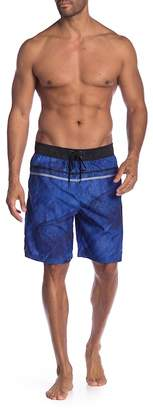 Trunks REALTREE Volley Contrast Waistband Board Shorts