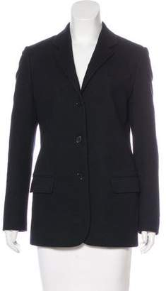 Helmut Lang Button-Up Wool Jacket