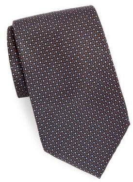 Brioni Mini Dots Silk Tie