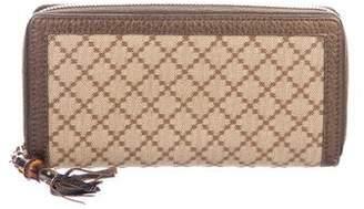 Gucci Diamante Bamboo Wallet
