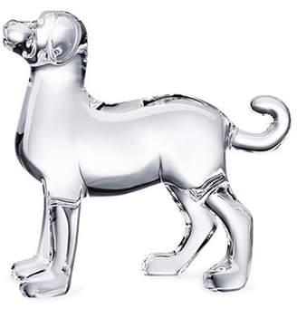 Baccarat Zodiaque dog sculpture - Clear