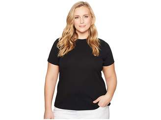 Lauren Ralph Lauren Plus Size Cotton Short Sleeve T-Shirt