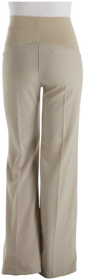 Olian Career Pants, Wide Leg - Tan-X-Small