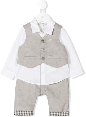 Emporio Armani Kids formal suit set