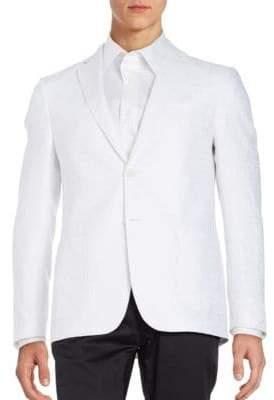 Jacquard Linen Sportcoat