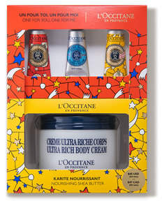LOccitane Holiday Nourishing Shea Butter Set