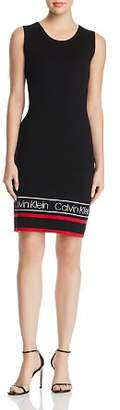 Calvin Klein Varsity Hem Sweater Dress