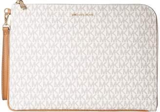 MICHAEL Michael Kors Mercer Large Tech Zip Clutch Clutch Handbags