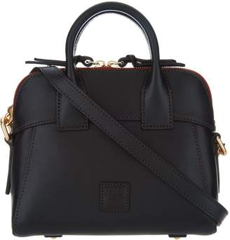 Dooney & Bourke Florentine Leather Crossbody Satchel-Cameron