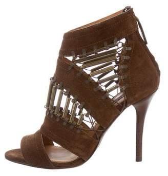 Ralph Lauren Blaphina Suede Sandals w/ Tags