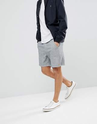 Farah Pendergrass Waffle Shorts in Gray