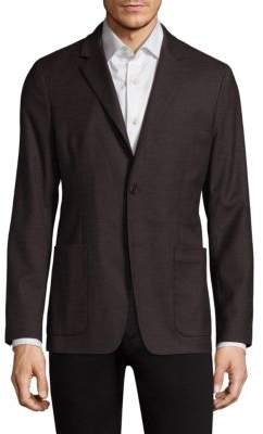 Theory Slim-Fit Nailhead Blazer