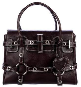 Pre Owned At Therealreal Luella Baby Gisele Leather Handle Bag