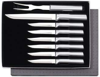 Rada Cutlery Meat Lovers 8-Piece Steak Knife Gift Set Stainless Steel Blades With Aluminum Handles