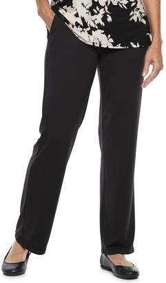 Dana Buchman Women's Everyday Casual Pull-On Terry Pants
