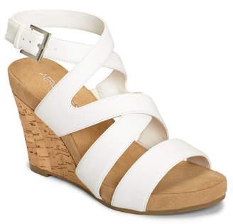 Aerosoles Silverplush Wedge Sandals Women Shoes